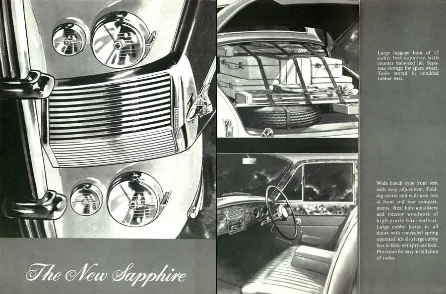 Armstrong Siddeley Sapphire 1953 - The New Sapphire