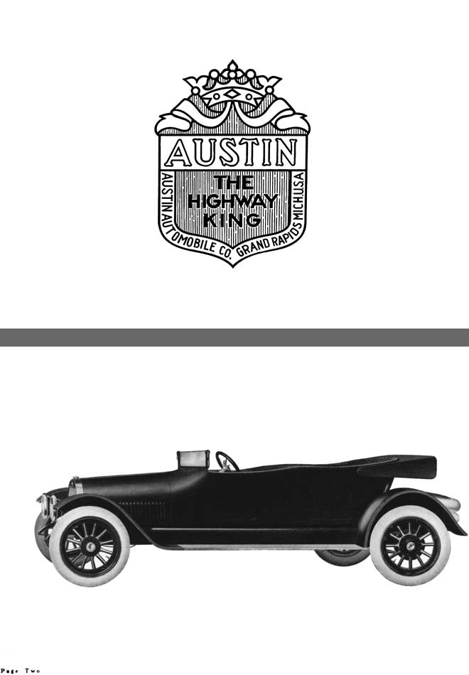 Austin 1918 - Austin The Highway King