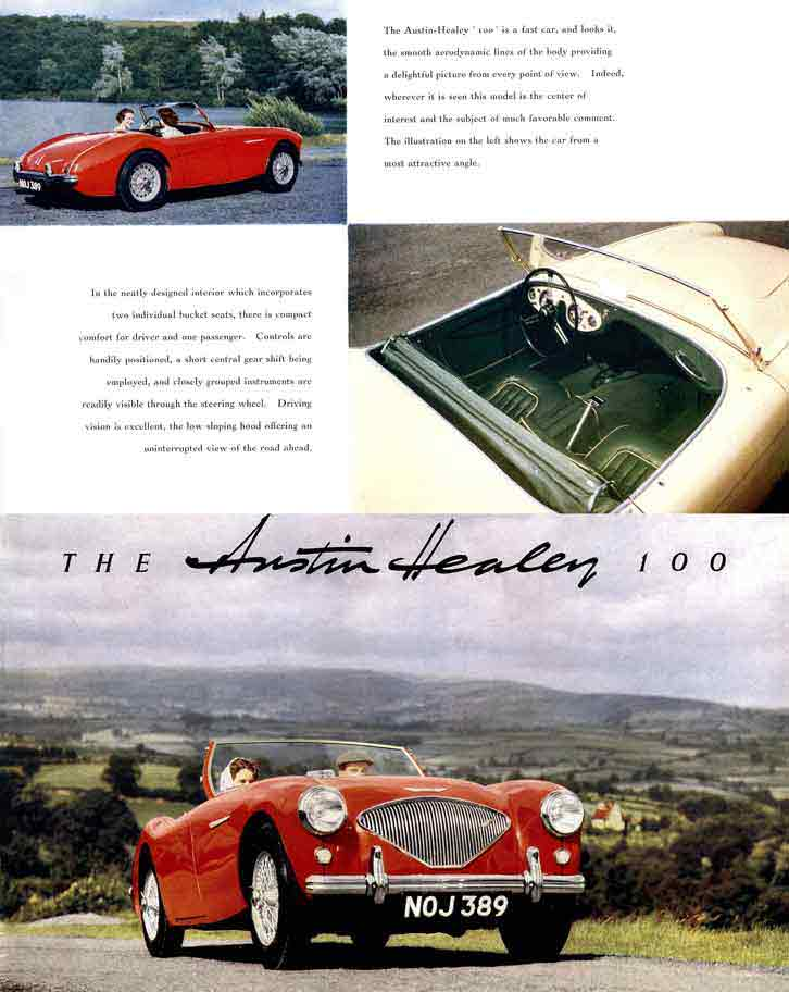 Austin Healey 100 1953 - The Record - Breaking Austin-Healey Hundred