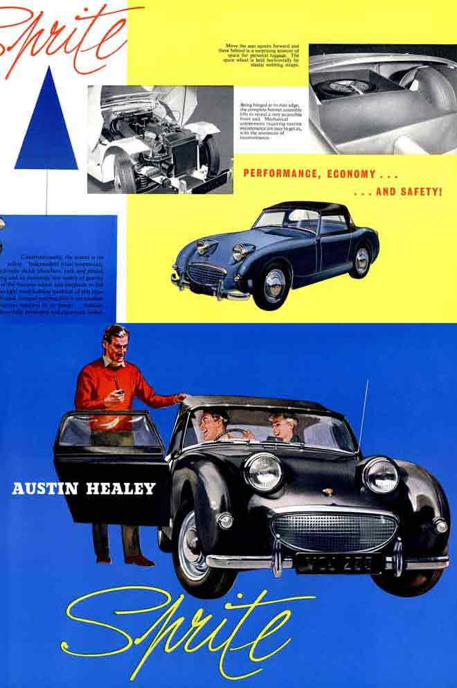 Austin Healey Sprite 1960 - The Exciting New Austin Healey Sprite