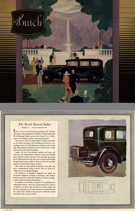 Buick 1930 - Buick for Nineteen Thirty 132 Inch Wheelbase Models