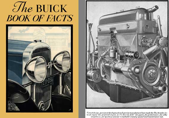Buick 1930 - The Buick Book of Facts