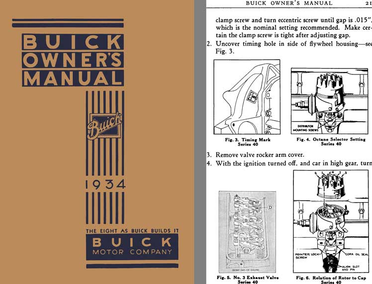 Buick 1934 - Buick Owner's Manual 1934 - The Eight as Buick Builds it - Buick Motor Company