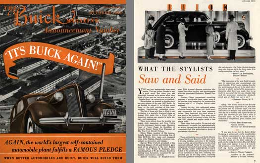 Buick 1936 - The Buick Magazine Announcement Number - October 1936