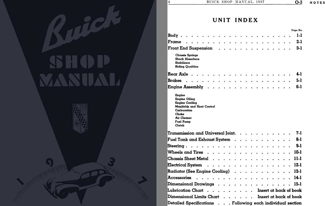 Buick 1937 - Buick Shop Manual 1937