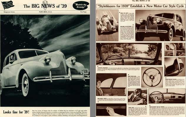 Buick 1939 - The Big News of '39