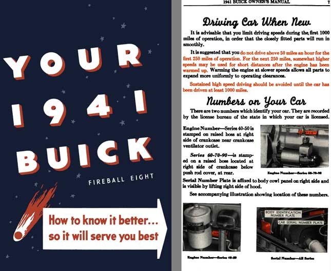 Buick 1941 - Your 1941 Buick Fireball Eight - How to Know it Better� So it will Serve You Best