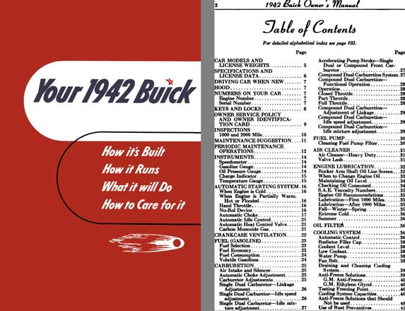 Buick 1942 - Your 1942 Buick  Owners Manual