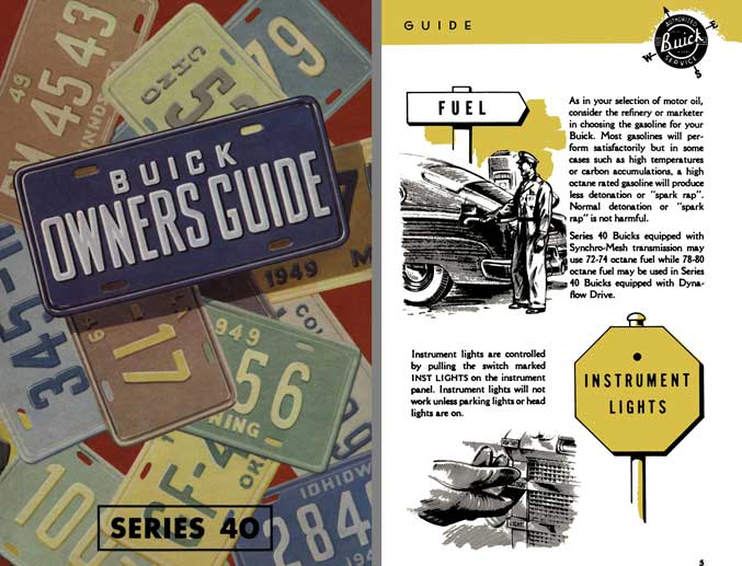 Buick 1949 - Buick Owners Guide Series 40