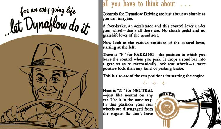 Buick 1950 - 1950 Buick Dynaflow Booklet - For an Easy Going Life � Let Dynaflow do it