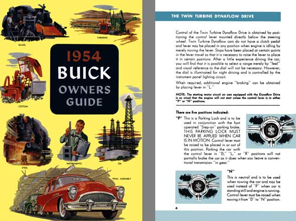 Buick 1954 - 1954 Buick Owners Guide