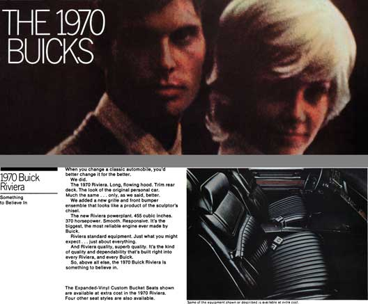 Buick 1970 - The 1970 Buicks