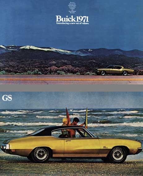 Buick 1971 - Buick 1971 Introducing a New Set of Values