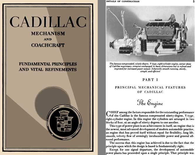 Cadillac 1929 - Cadillac Mechanism and Coachcraft - Fundamental Principles and Vital Refinements