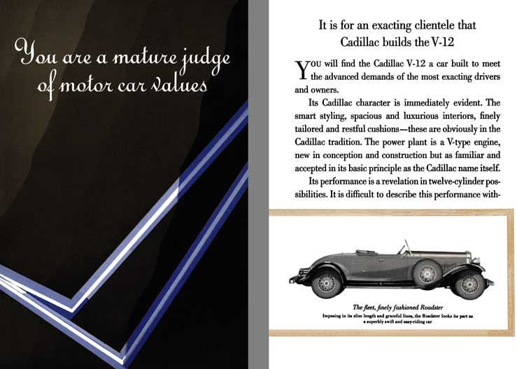 Cadillac 1931 - You are a mature judge of motor car values