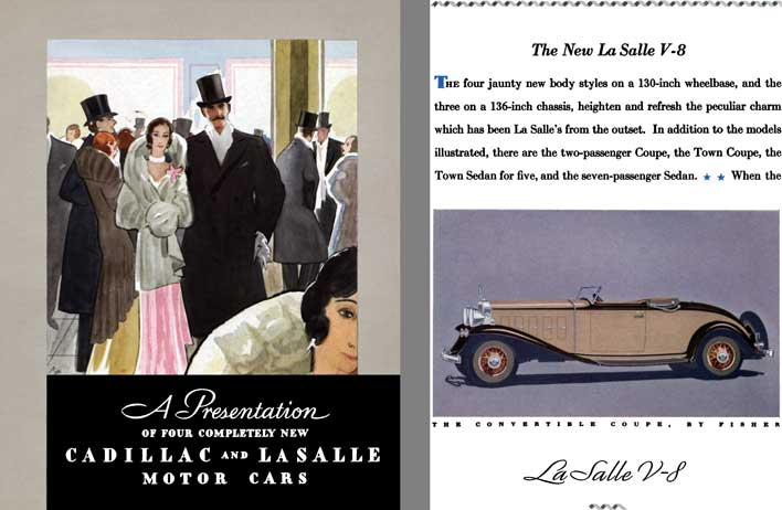 Cadillac 1932 - A Presentation of Four Completely New Cadillac and LaSalle Motor Cars