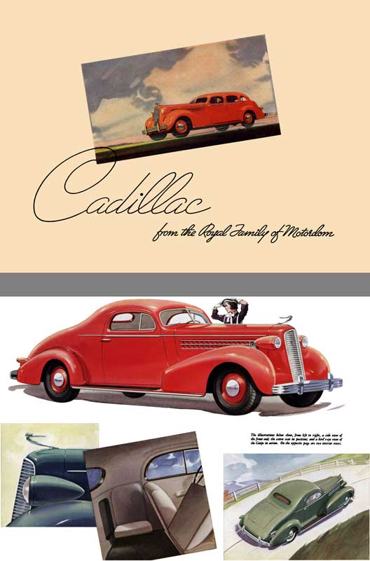 Cadillac 1936 - Cadillac from the Royal Family of Motordom