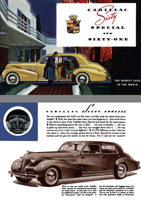 Cadillac 1939 - Cadillac Sixty Special and Sixty One
