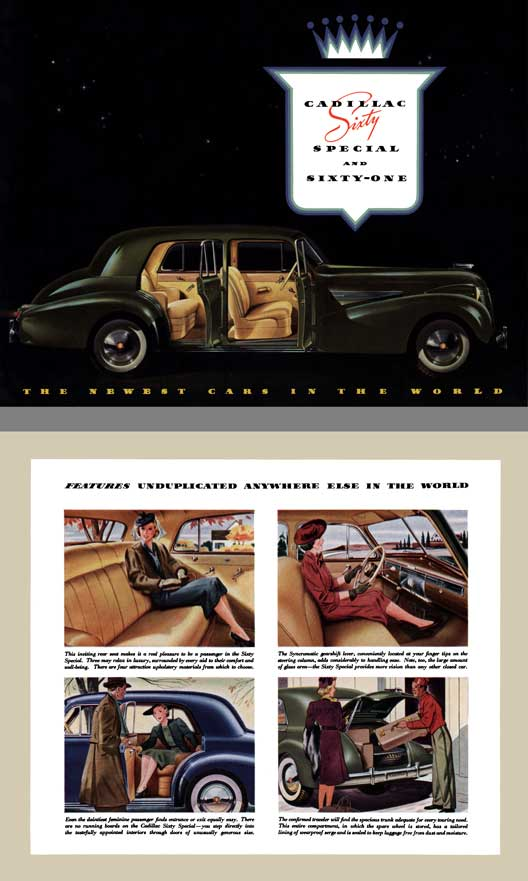 Cadillac 1939 - Cadillac Sixty Special and Sixty One (14pg)