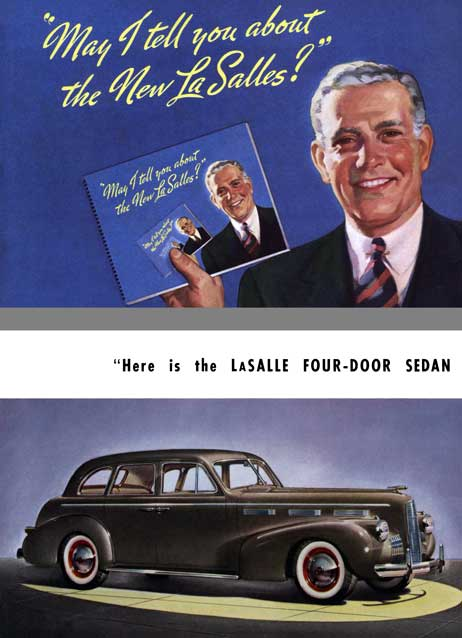 Cadillac 1939 - May I Tell You About the New La Salles?