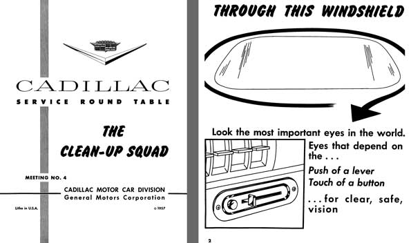 Cadillac 1957 - Cadillac Service Round Table Meeting No. 4 - The Clean-Up Squad