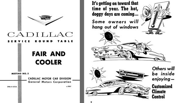 Cadillac 1957 - Cadillac Service Round Table Meeting No. 5 - Fair and Cooler