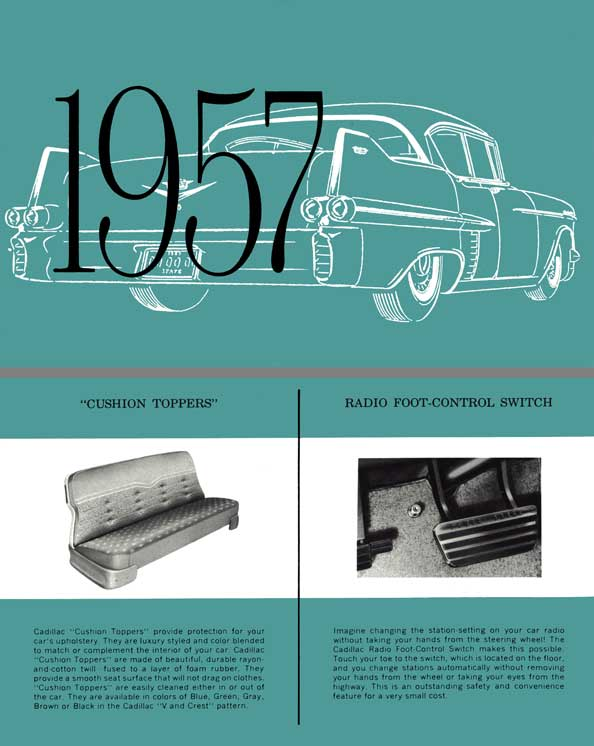 Cadillac 1957 Accessories