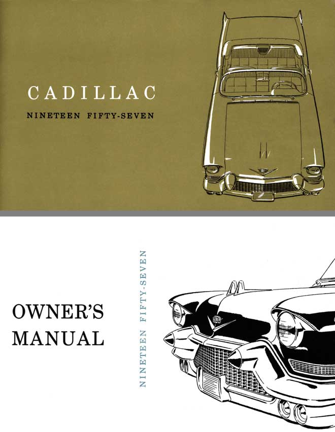 Cadillac 1957 Owners Manual