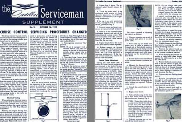 Cadillac 1959 - the Cadillac Serviceman Supplement - No. 2 October 16 - 1959