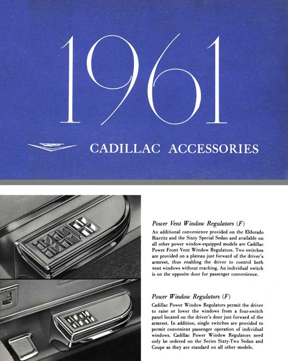 Cadillac 1961 Accessories