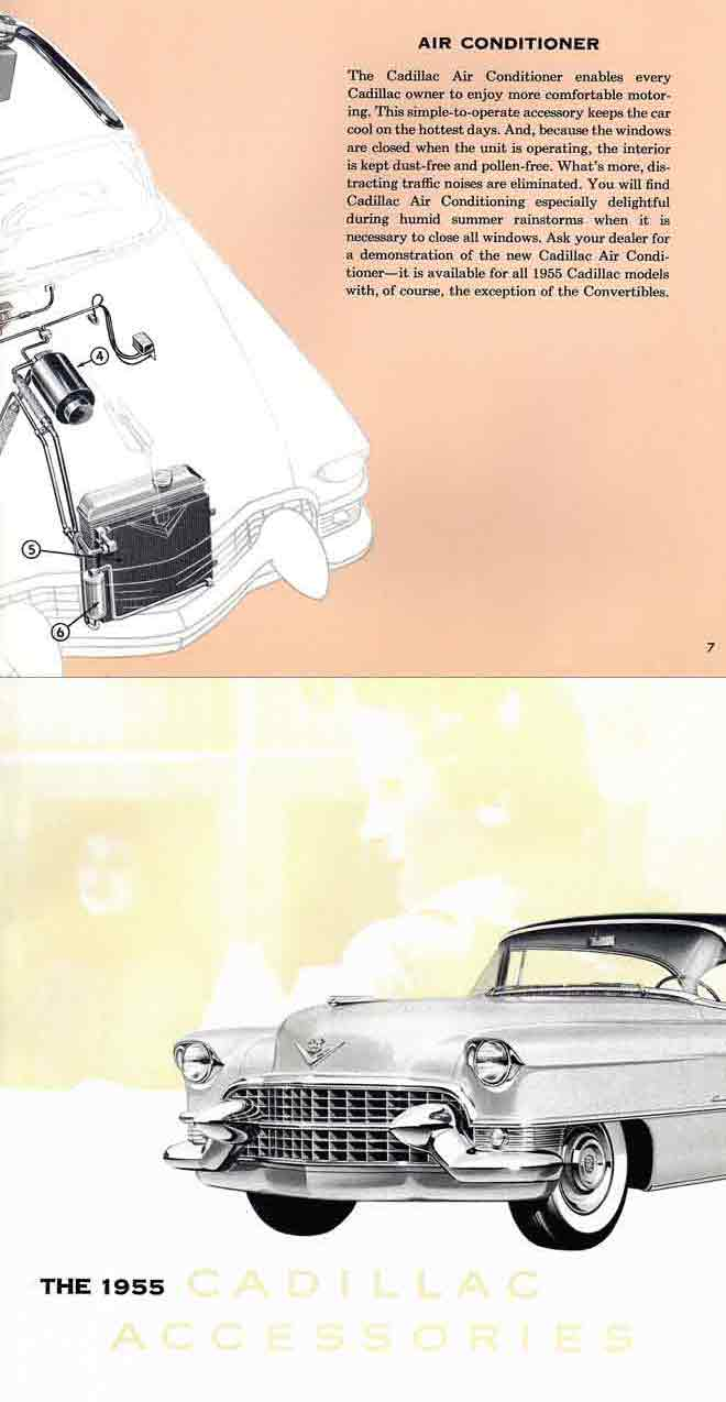 Cadillac Accessories 1955