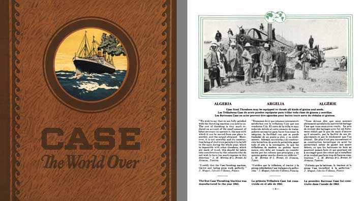 Case 1921 - Case The World Over