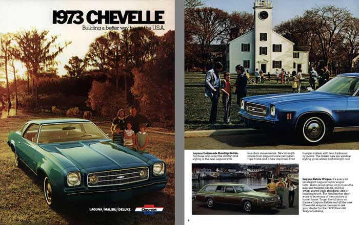 Chevrolet Chevelle 1973 - 1973 Chevelle - Building a Better Way to See the USA