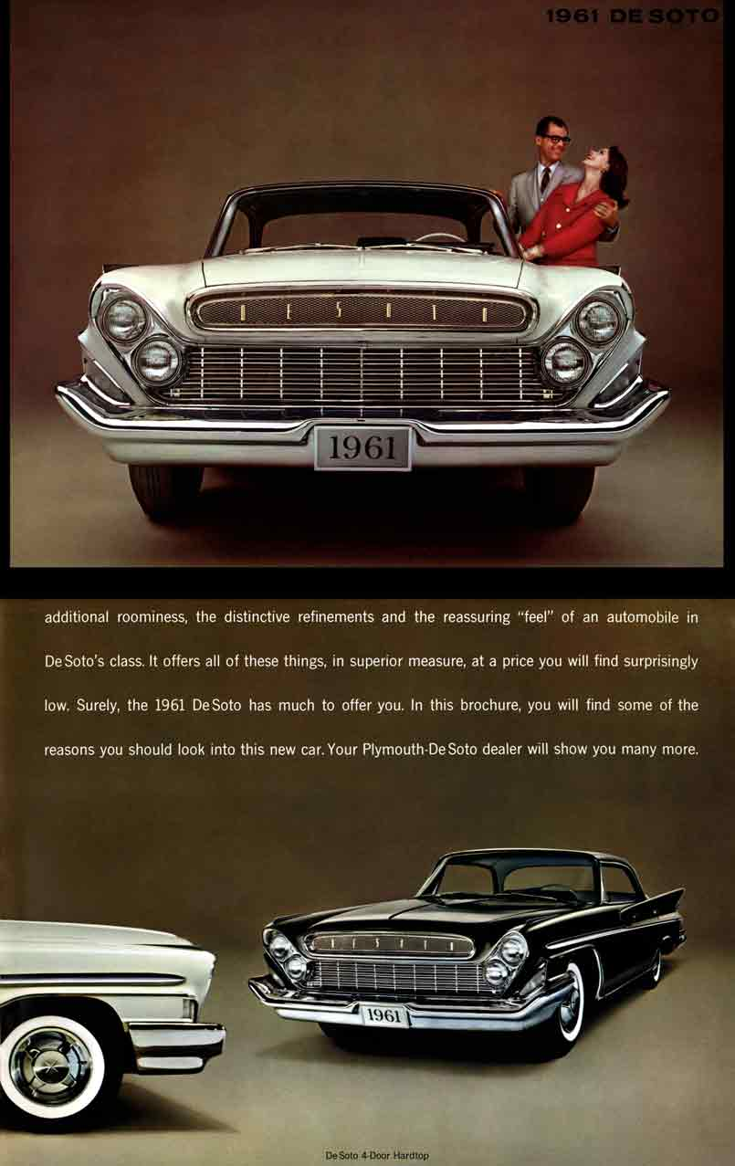 DeSoto 1961 - 1961 DeSoto Its Quality Sets It Apart, Its Price Keeps It Within Your Reach