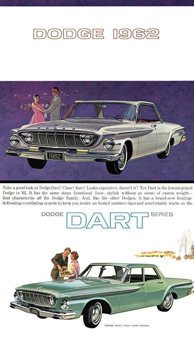 Dodge 1962 - The New Lean Breed of Dodge