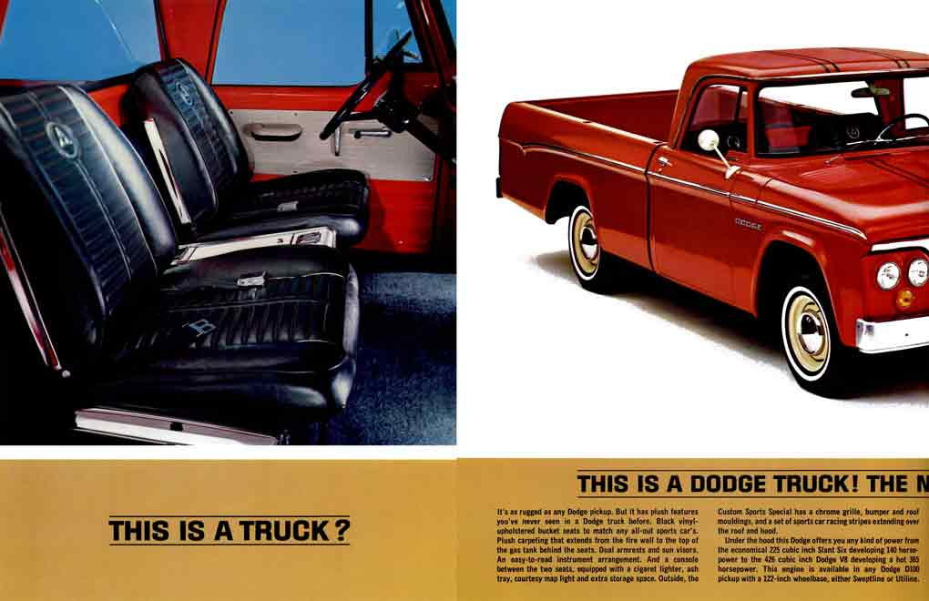 Dodge 1964 Truck - This is a Truck?