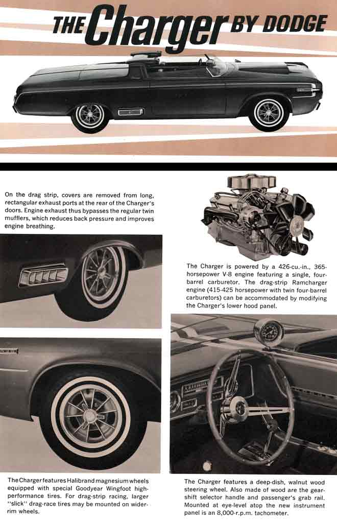 Dodge Charger (c1960) - The Charge by Dodge