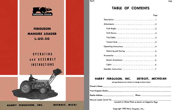 massey ferguson 1250 service manual