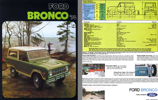 Ford 1974 - Ford Bronco '74