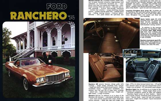 Ford 1974 - Ford Ranchero '74