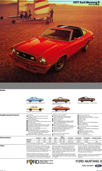 Ford 1977 - 1977 Ford Mustang II Sweet Handling (12pg)