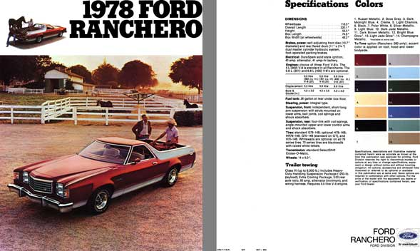 Ford 1978 - 1978 Ford Ranchero