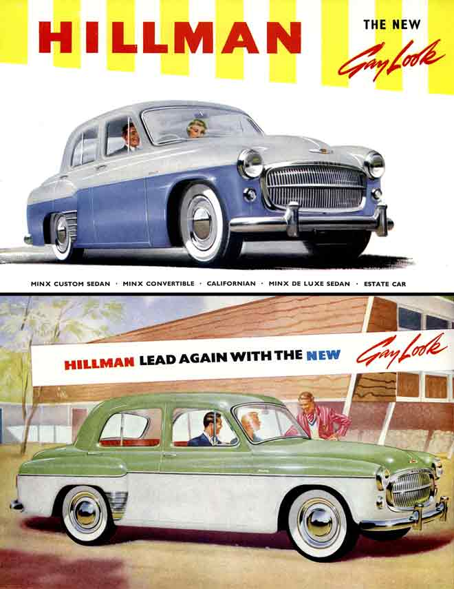 Hillman 1957 - The New Gay Look