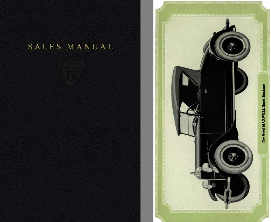Maxwell 1924 - Maxwell Sales Manual