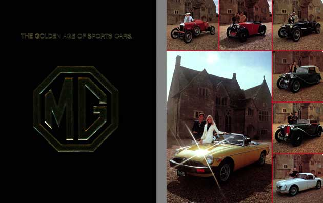 MG 1975 - The Golden Age of Sports Cars MG