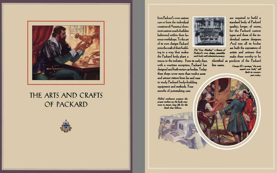 Packard 1928 - The Arts and Crafts of Packard - The Restful Car