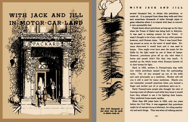Packard 1933 - With Jack and Jill in Motor-Car-Land - The Story of the Motor Car as Told by