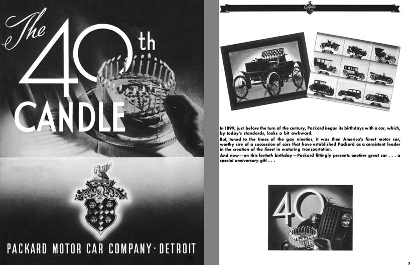 Packard 1939 - The 40th Candle
