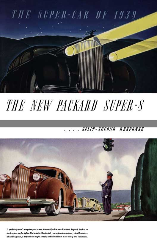 Packard 1939 - The Super - Car of 1939 - The New Packard Super - 8