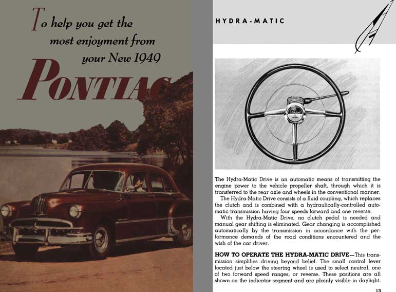 General Motors Pontiac 1949 - To Help get the Most Enjoyment from Your New 1949 Pontiac